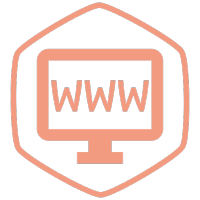 Domain Name - display with a three W